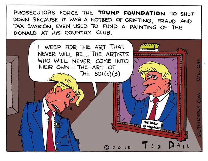 For-Profit Non-Profit: Trump Foundation Fizzles Out