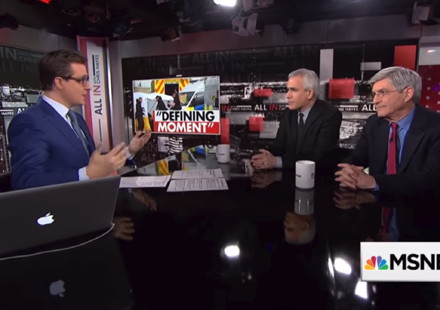 Journalist Michael Isikoff and co-author of his book on Russiagate, David Corn, talk to MSNBC's Chris Hayes about the relationship between US President Donald Trump and Russian President Vladimir Putin.
