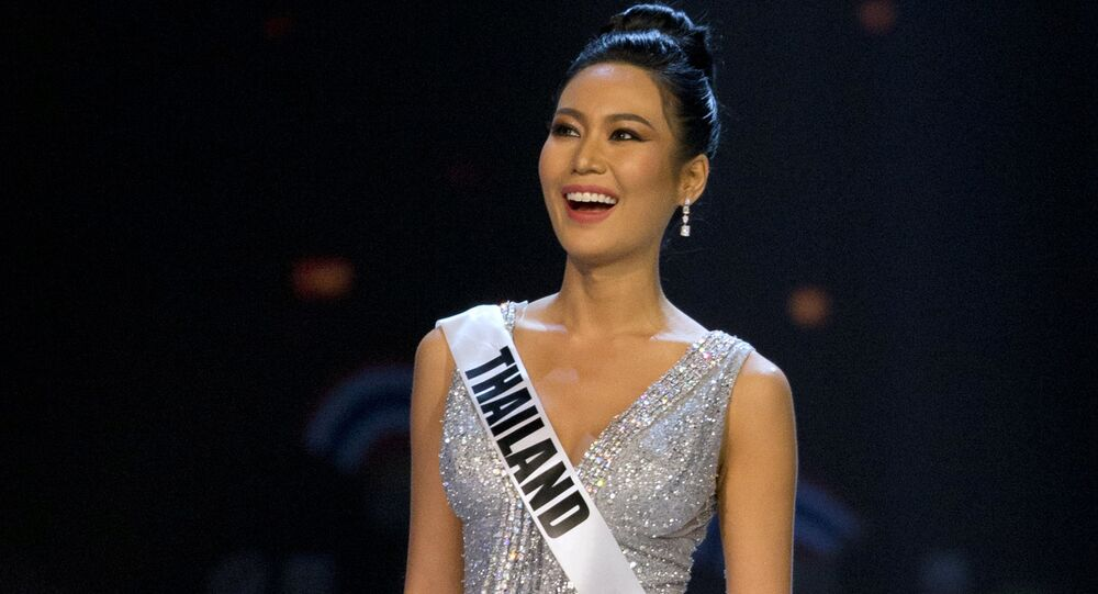 Miss Thailand Sophida Kanchanarin participates in the swimsuit and evening gown stage of the 67th Miss Universe competition in Bangkok, Thailand, Thursday, Dec. 13, 2018