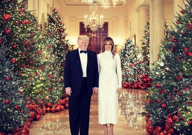 Merry Christmas from President Donald J. Trump and First Lady Melania Trump