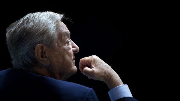 George Soros, Chairman of Soros Fund Management - Sputnik International