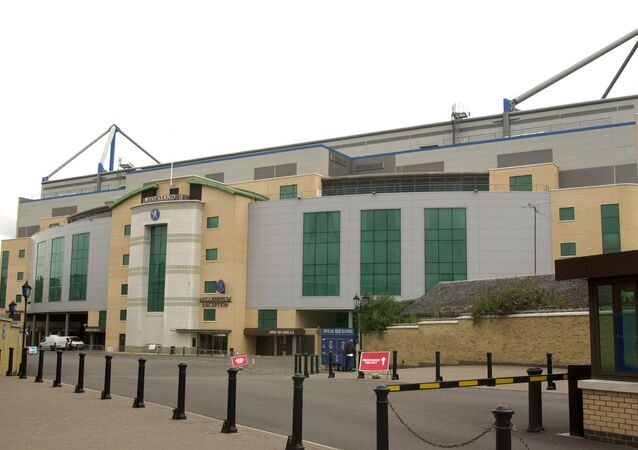 Chelsea's Stamford Bridge stadium, which was converted to all-seater in the late 1990s