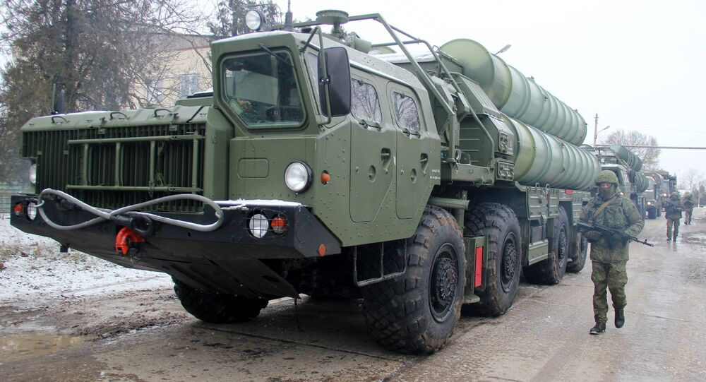 A Triumph S-400 division on duty in Crimea