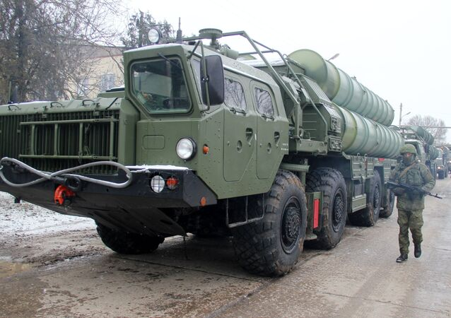 The Triumph S-400 missile systems. File photo