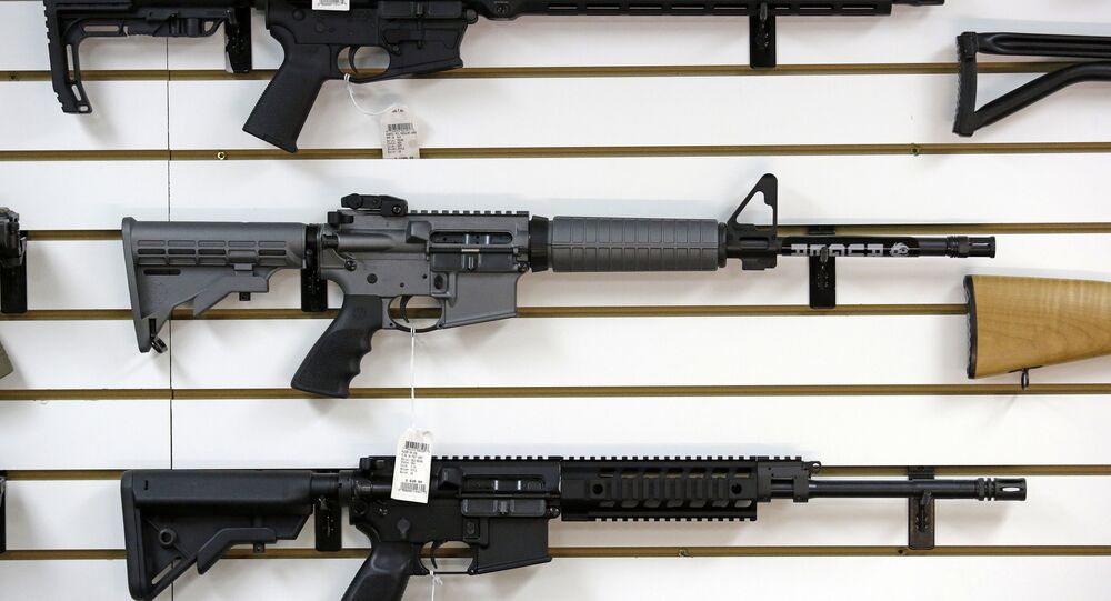 Ruger AR-15 semi-automatic rifles