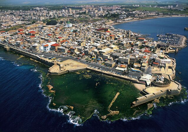 Acre ( Acco) is a city in the Western Galilee region of northern Israel at the northern extremity of Haifa Bay