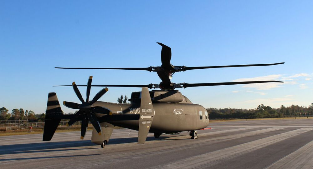 The Sikorsky-Boeing team offers a sneak peek at its new SB>1 DEFIANT™ helicopter.