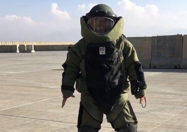 Bomb-suit burpees