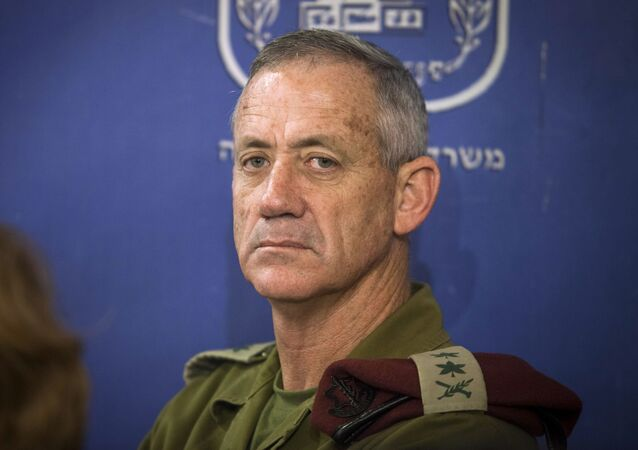 Former IDF Chief of General Staff Benny Gantz.