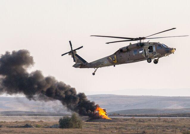 Israeli UH-60 Black Hawk helicopter