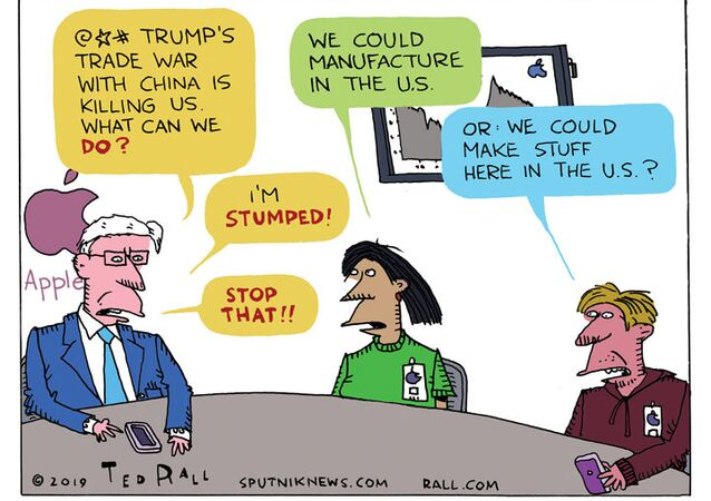 Stocks Rot Following China's Apple Boycott