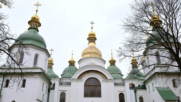 Saint Sophia's Cathedral in Kiev - Sputnik International