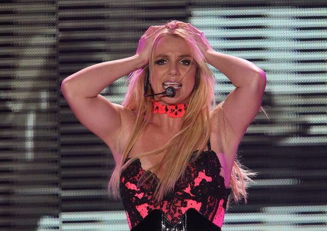 Britney Spears in Moscow