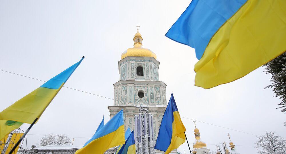 Sofiyivska Square in Kiev