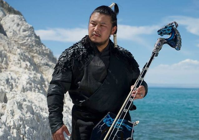 The Hu Band Morin khuur player, Lead throat singer, TS.Galbadrakh aka GALA