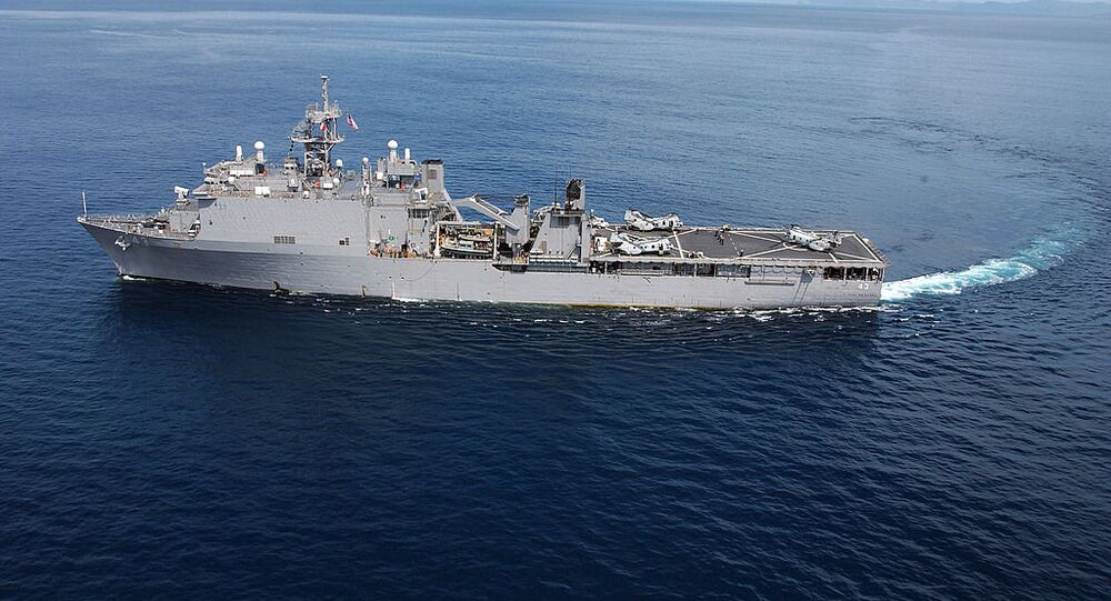 USS Fort McHenry. File photo
