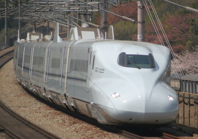 JR Central's next-gen N700S shinkansen 'bullet' train