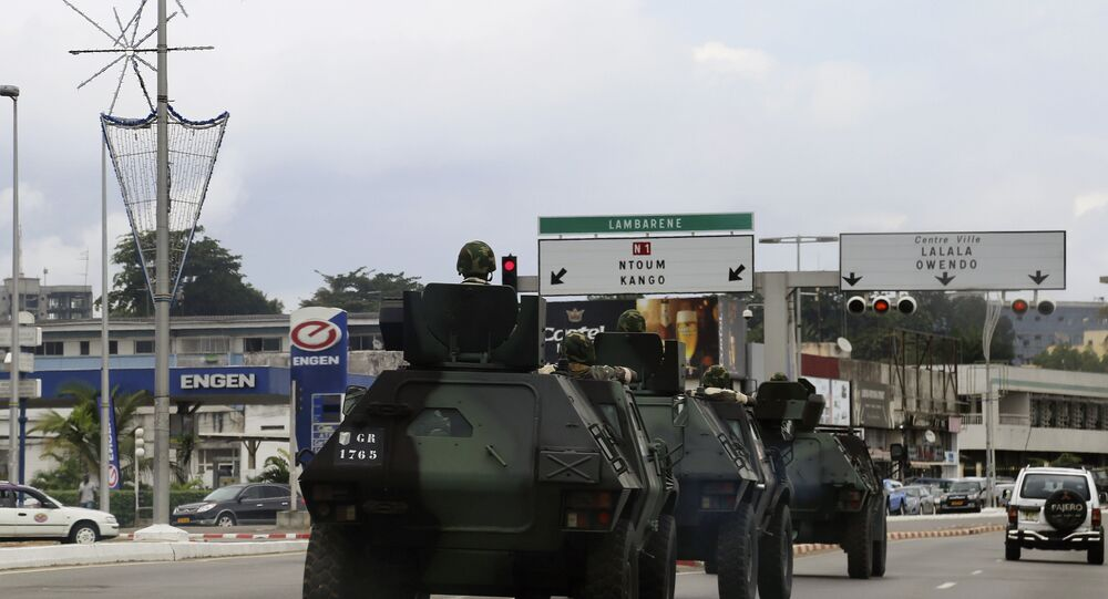 Military Armoured Vehicles in Libreville, Gabon, 2016