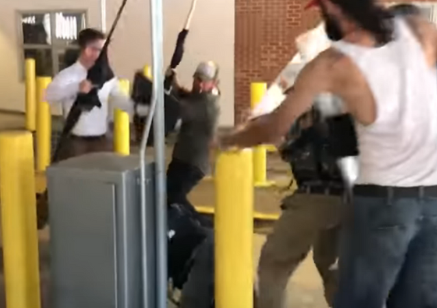 Charlottesville parking lot assault
