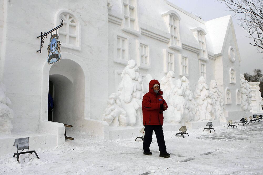 International Ice and Snow Festival in China's Harbin