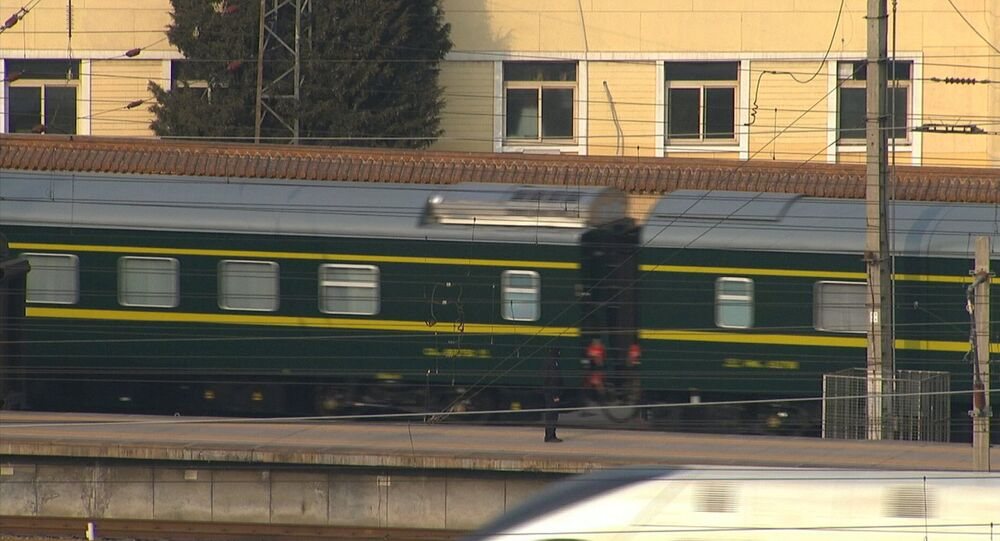 Train Reportedly With Kim Jong-un Leaves Beijing