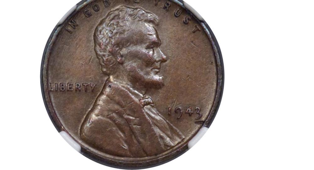 Rare 1943 copper Lincoln penny