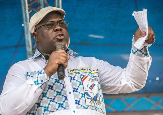 Felix Tshisekedi - whose father Etienne was an opposition leader - has been elected President of DR Congo