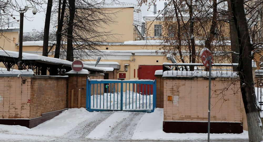 A general view shows the pre-trial detention centre Lefortovo, where former U.S. Marine Paul Whelan is reportedly held in custody in Moscow, Russia January 3, 2019
