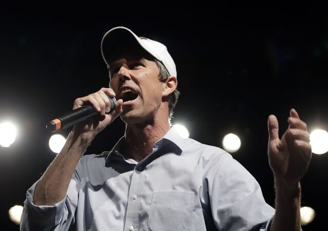 In this Nov. 5, 2018, file photo, Rep. Beto O'Rourke, D-El Paso, the 2018 Democratic candidate for U.S. Senate in Texas, speaks during a campaign rally in El Paso, Texas. Southern politics was a one-party affair for a long time. But now it's a mixed bag with battlegrounds emerging in states with growing metro areas where white voters are more willing to back Democrats.
