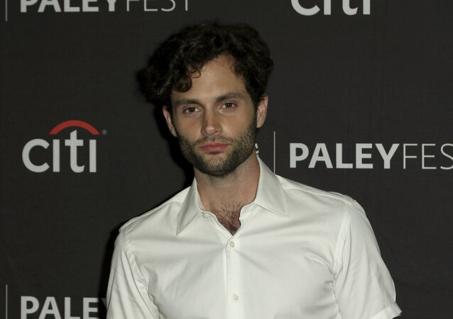 Penn Badgley attends the PaleyFest Fall TV Previews of You at The Paley Center for Media on Sunday, Sept. 9, 2018, in Beverly Hills, Calif.