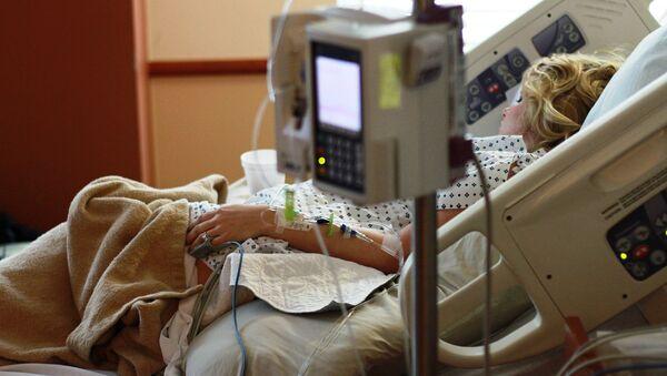 A female patient in a hospital - Sputnik International