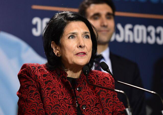 Georgia's newly-elected President Salome Zourabichvili