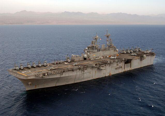 USS Kearsarge (LHD-3), file photo.