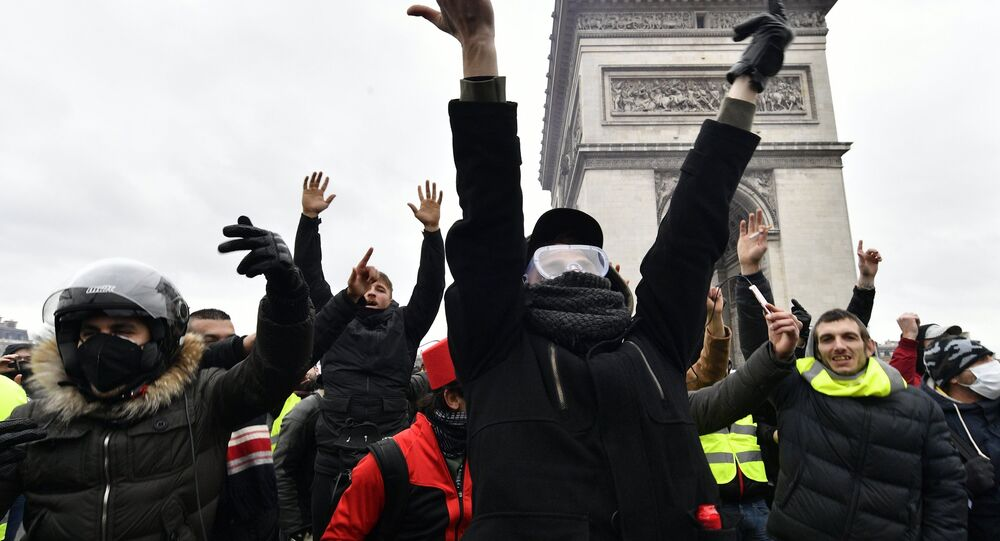 Yellow Vests protest in Paris