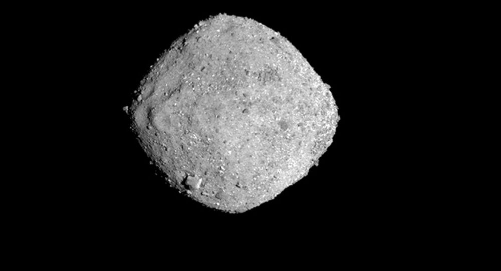 This Nov. 16, 2018, image provide by NASA shows the asteroid Bennu