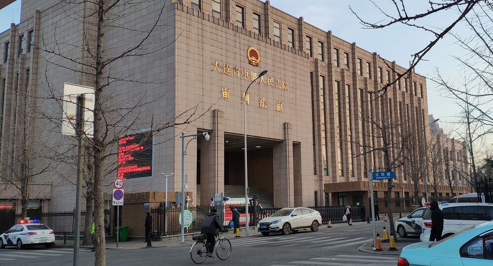 A general view of the Intermediate People's Court of Dalian, where the trial for Robert Lloyd Schellenberg, a Canadian citizen on drug smuggling charges, will be held, in Liaoning province, China January 14, 2019