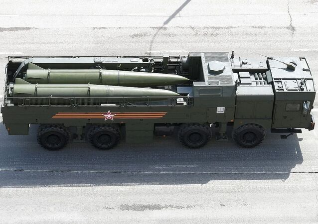 9T250-1 Transport Loader for Iskander-M system, view from above
