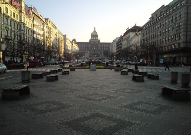 Wenceslas Square, Prague (File photo).