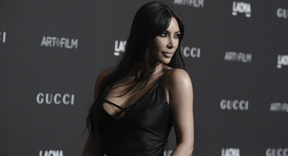 Kim Kardashian attends the 2018 LACMA Art+Film Gala at Los Angeles County Museum of Art on Saturday, Nov. 3, 2018, in Los Angeles