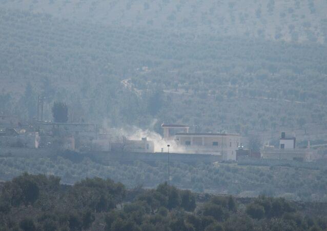 Afrin'e yönelik TSK bombardımanı