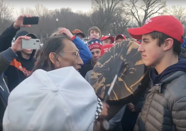 The Covington Catholic High School students and the Native American veteran