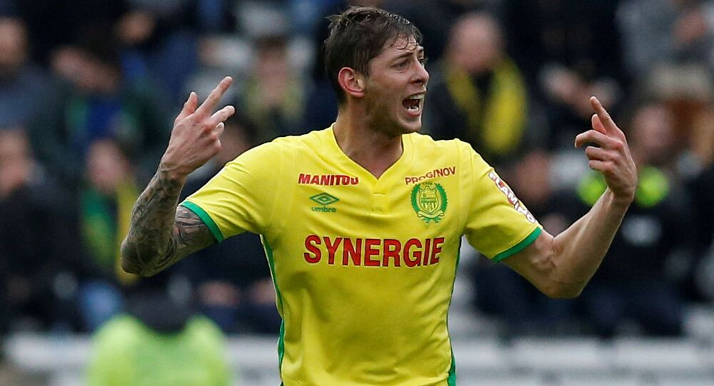 Football player Emiliano Sala