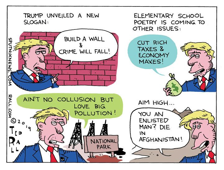 Fund the Wall or It's My Downfall
