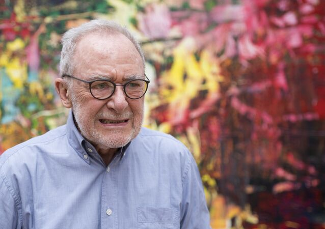 German modern art painter Gerhard Richter, pictured in 2017