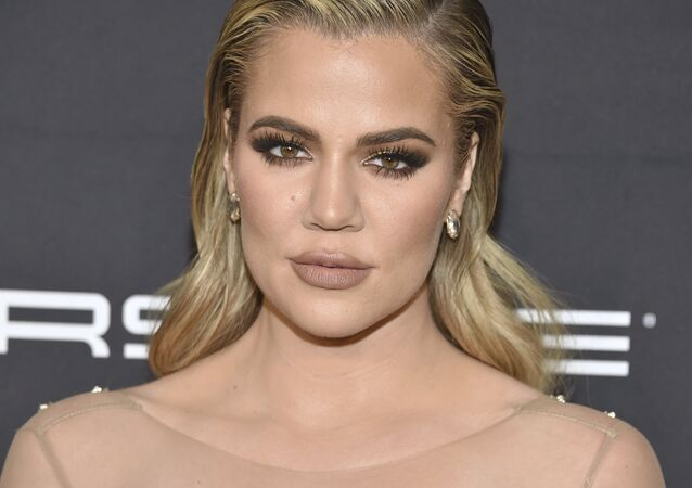 Khloe Kardashian attends the Angel Ball benefitting Gabrielle's Angel Foundation for Cancer Research at Cipriani Wall Street on Monday, Nov. 21, 2016, in New York.