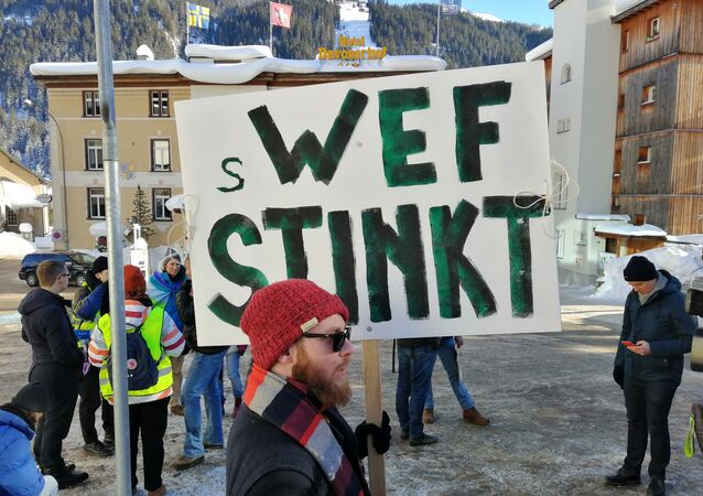 Activists Rally Against the Annual World Economic Forum in Davos