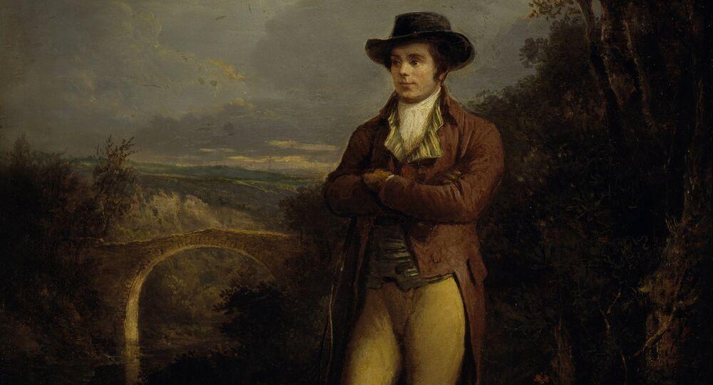 Alexander Nasmyth - Robert Burns, 1759 - 1796
