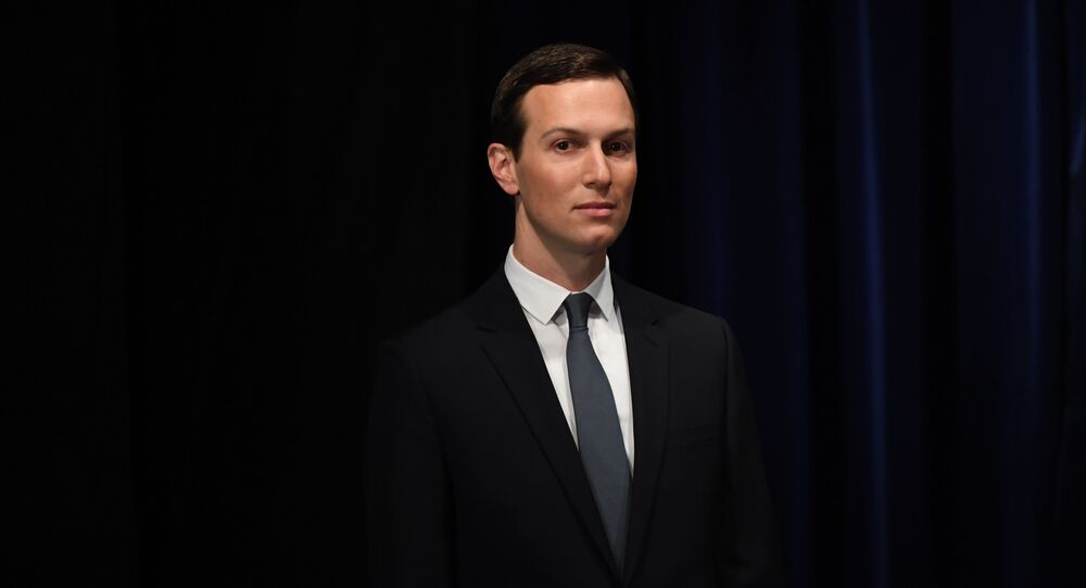 Senior Advisor to the President of the United States Jared Kushner, is pictured before being decorated with the Mexican Order of the Aztec Eagle by Mexico's President Enrique Pena Nieto in Buenos Aires, on November 30, 2018
