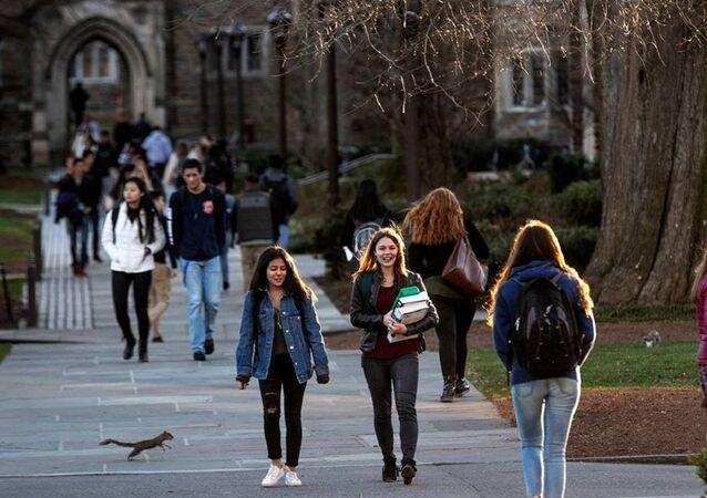 Duke University students