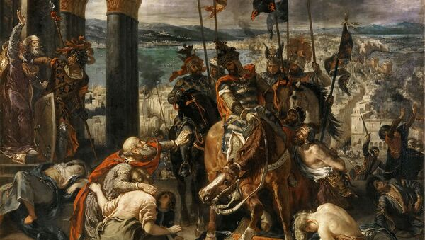 The Entry of the Crusaders into Constantinople - Sputnik International
